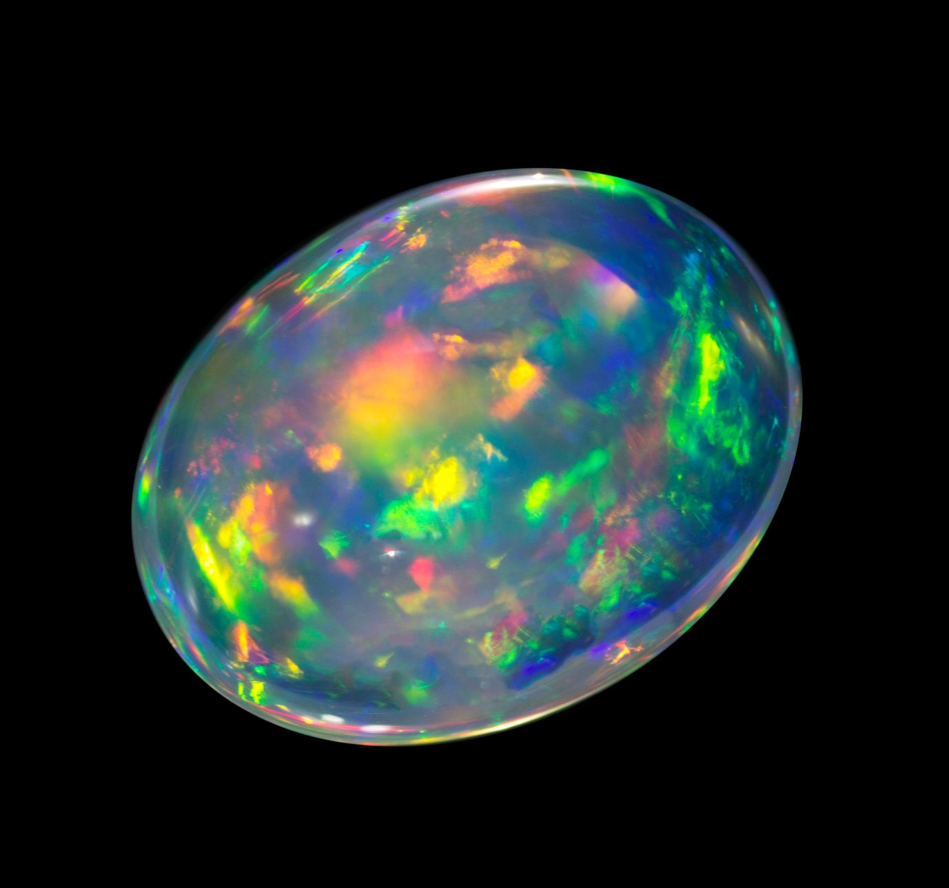 G.Water Opal cab. Mexico 128x98x71 459 cts. 5374